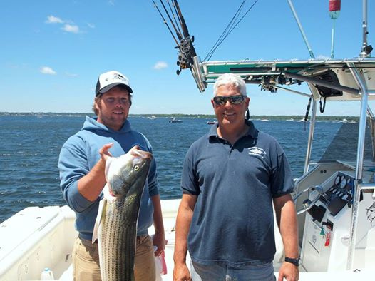 Massachusetts Charter Captains Paul and Peter Murray