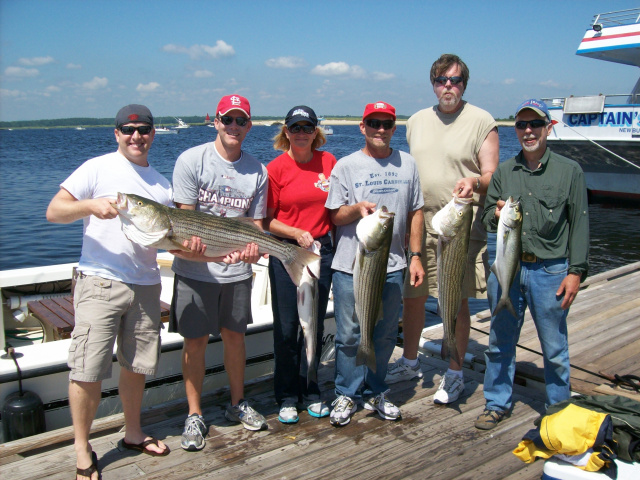 Massachusetts fishing charters aboard Obsessed